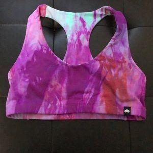 Booty by Brabants Tie dye sports bra